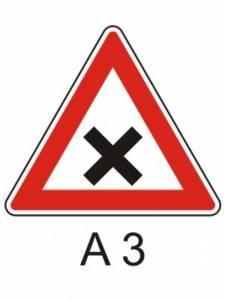 A 3 - křižovatka