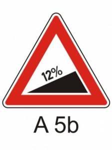 A 5b - pozor nebezpečné stoupání