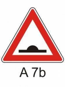 A 7b - zpomalovací práh