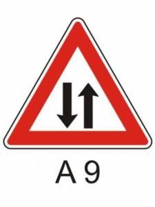 A 9 - provoz v obou směrech