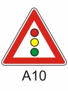 A 10 - světelné signály