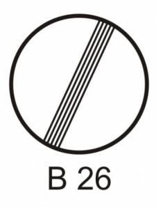 B 26 - konec všech zákazů
