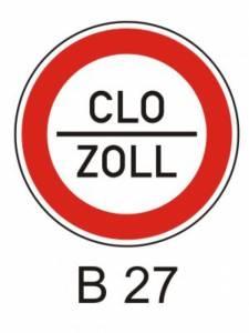 B 27 - povinnost zastavit vozidlo