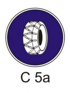C 5a - sněhové řetězy