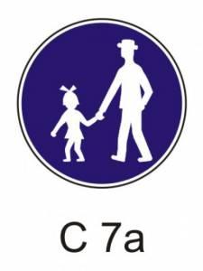 C 7a - stezka pro chodce