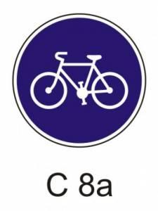 C 8a - stezka pro cyklisty