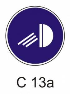 C 13a - rozsviť světla