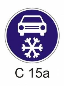 C 15a - zimní výbava