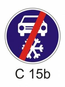 C 15b - zimní výbava - konec