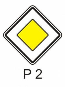 P 2 - hlavní pozemní komunikace