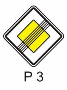 P 3 - hlavní pozemní komunikace - konec