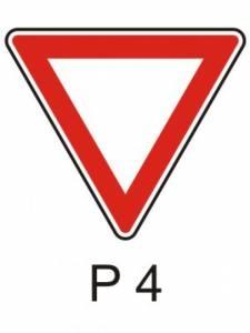 P 4 - dej přednost v jízdě!