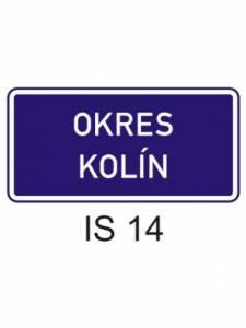 IS 14 - hranice územního celku