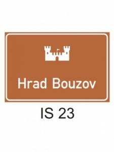 IS 23 - kulturní nebo turistický cíl