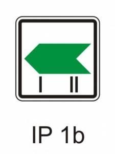 IP 1b - změna směru okruhu