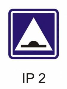 IP 2 - zpomalovací práh