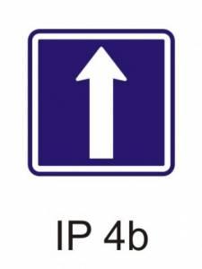 IP 4b - jednosměrný provoz