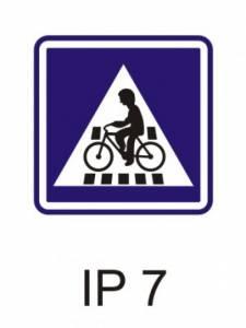 IP 7 - přejezd pro cyklisty