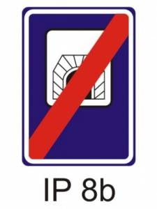 IZ 3b - tunel - konec