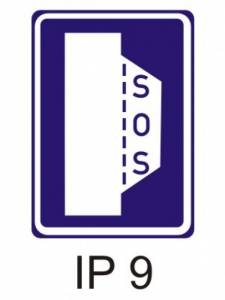 IP 9 - nouzové stání
