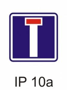 IP 10a - slepá pozemní komunikace