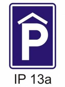 IP 13a - kryté parkoviště