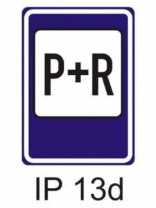 IP 13d - parkoviště P + R