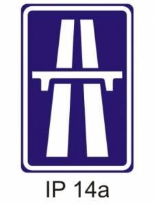 IZ 1a - dálnice