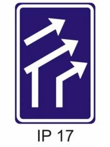 IP 17 - uspořádání jízdních pruhů